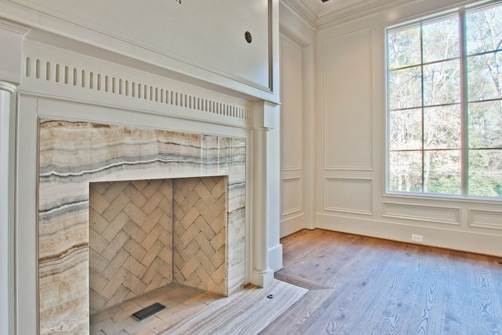 Marble Surround Fireplace