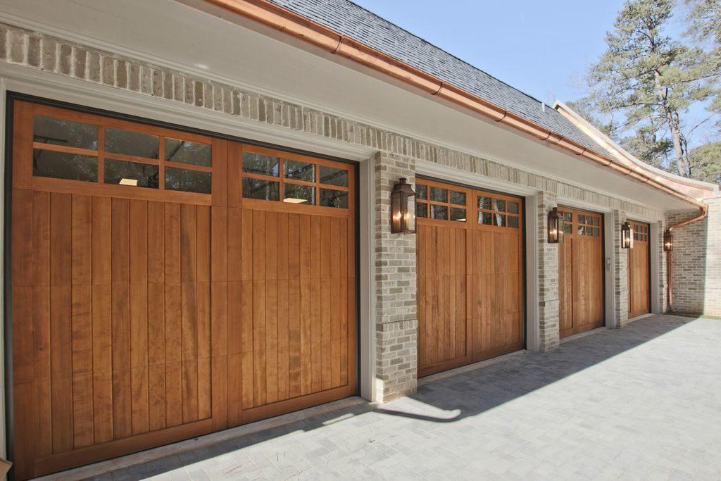 4 car custom garage